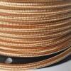 Tekstilinis aukso spalvos laidas