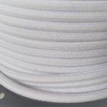 Tekstilinis baltas laidas