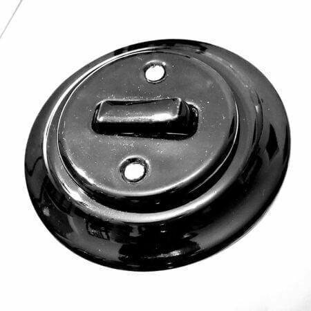 Keramikinis jungiklis, retro stilius